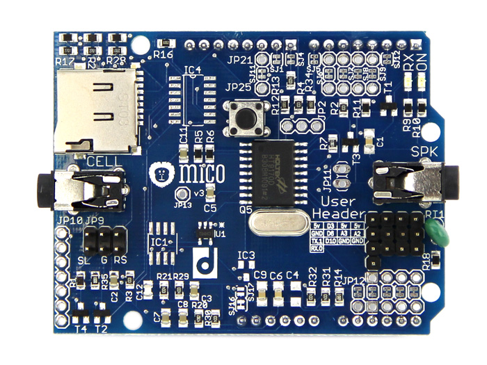 MICO Shield board